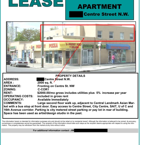 Lease Listing from 1995